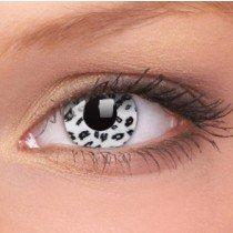 ColourVue White Leopard Crazy Contact Lenses