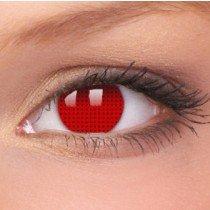 ColourVue Red Screen Crazy Contact Lenses