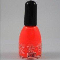 La Femme Crackle Shatter Nail Polish - Neon Orange