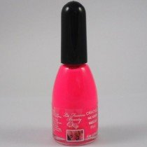 La Femme Crackle Shatter Nail Polish - Neon Pink