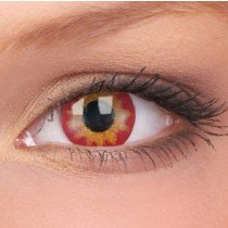 ColourVue Demon Eye Crazy Contact Lenses