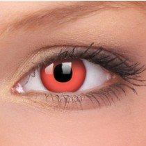 ColourVue Red Devil Crazy Contact Lenses