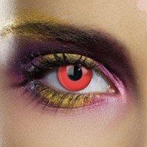 Edit's Colour Vision Range Devil Red Contact Lenses