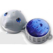 Dolphin 3D Contact Lenses Storage Soaking Case