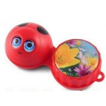 Ladybird 3D Contact Lenses Storage Soaking Case