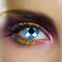 Edit's Flag Range Scotland Contact Lenses