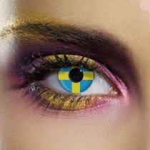 Edit's Flag Range Sweden Contact Lenses