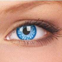 ColourVue Blue Batik Crazy Contact Lenses