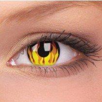ColourVue Flame Hot Crazy Contact Lenses