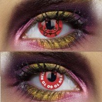 Edit's I Love Lucifer Range Go To Hell Contact Lenses