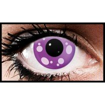 (90 Day Wear)  H Tomoe Anime Crazy Coloured Contact Lenses