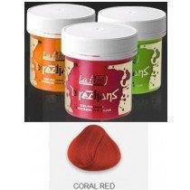 Coral Red Directions Semi Perm Hair Dye By La Riche
