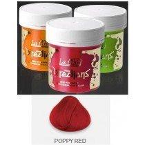 Poppy Red Directions Semi Perm Hair Dye By La Riche