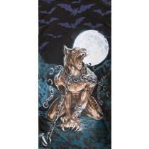 Alchemy Loups Garou Gothic Beach Towel