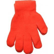 Orange Neon Bright Florescent Magic Gloves