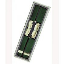 Men's Hardwearing Green 25mm Fashion Braces