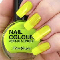 Stargazer UV Yellow Neon Nail Varnish 14ml 102