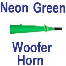 Neon Green Rave Party Woofer Horn