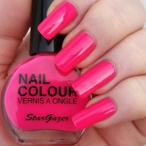 Stargazer UV Hot Pink  Neon Nail Varnish 14ml 104
