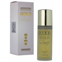 Milton Lloyd Ladies Perfume - Pure Gold - 55ml PDT - Parfum De Toilette