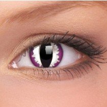 ColourVue Purple Dragon Crazy Contact Lenses