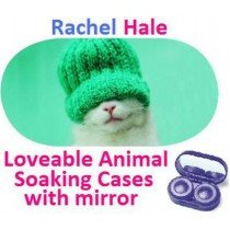 Kitten In a Hat Rachel Hale Contact Lens Soaking Case