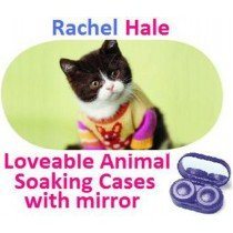 Kitten In a Jumper Rachel Hale Contact Lens Soaking Case