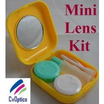 Yellow Mini Contact Lenses Storage Lens Travel Kit