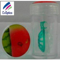 Water Melon Fruit Contact Lens Storage Soaking Barrel Case