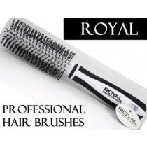 White Royal Cosmetic Connections Radial Hair Brush