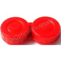 Standard Red Contact Lens Storage Case