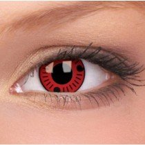 ColourVue Sasuke Crazy Contact Lenses