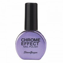 Stargazer Chrome Metallic Purple Nail Varnish 14ml 235