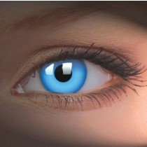 ColourVue Blue UV Glow Crazy Contact Lenses