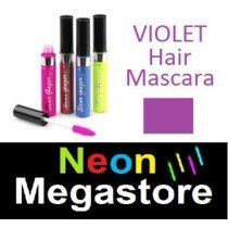 New Stargazer Colour Streak Hair Mascara - UV Neon Violet