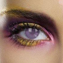 Edit's Colour Vision Range Violet Mesh Contact Lenses