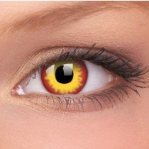 ColourVue Wild Fire Crazy Contact Lenses