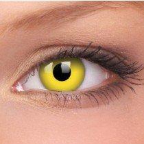 ColourVue Yellow Crazy Contact Lenses