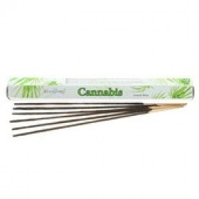 Cannabis Stamford Hex Incense Sticks