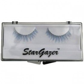 Stargazer Reusable False Eyelashes UV Reactive Blue #37