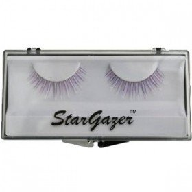Stargazer Reusable False Eyelashes UV Reactive Purple #38