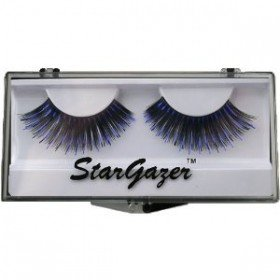 Stargazer Reusable False Eyelashes Black & Purple Foil 8