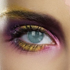 Edit's Colour Vision Range Aqua Mesh Contact Lenses