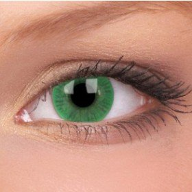 ColourVue Green Basics Contact Lenses