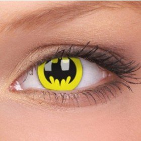 ColourVue Bat Crusader Crazy Contact Lenses