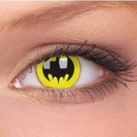 ColourVue Bat Crusader Crazy Contact Lenses