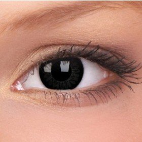 ColourVue Dolly Black Big Eyes Contact Lenses