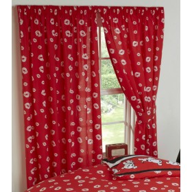 "66"" x 72"" Official Betty Boop Picture Perfect Design Curtains & Matching Tie Backs"