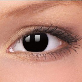 ColourVue Black Block Crazy Contact Lenses