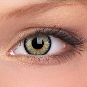ColourVue Green Glamour Coloured Contact Lenses